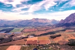 Aerial Photography - Paarl Surrounds, South-Africa - Fuji Superior 400