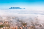 Aerial Photography -Misty Moutain, Cape Town, South-Africa - Fuji Superior 400