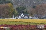 Cape Dutch Farmhouse, Hex River, South-Africa