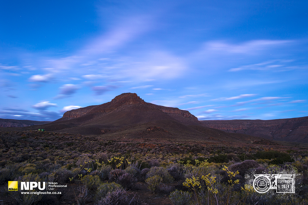 Blue Hour, Tankwa Karoo, South-Africa