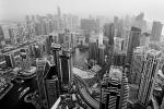 Cityscape Photography - Dubai Marina From Cayan Tower, Dubai, UAE - Fujifilm Acros 100