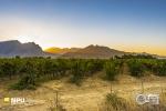 Sunset, Slanghoek Valley, Worcester, South-Africa