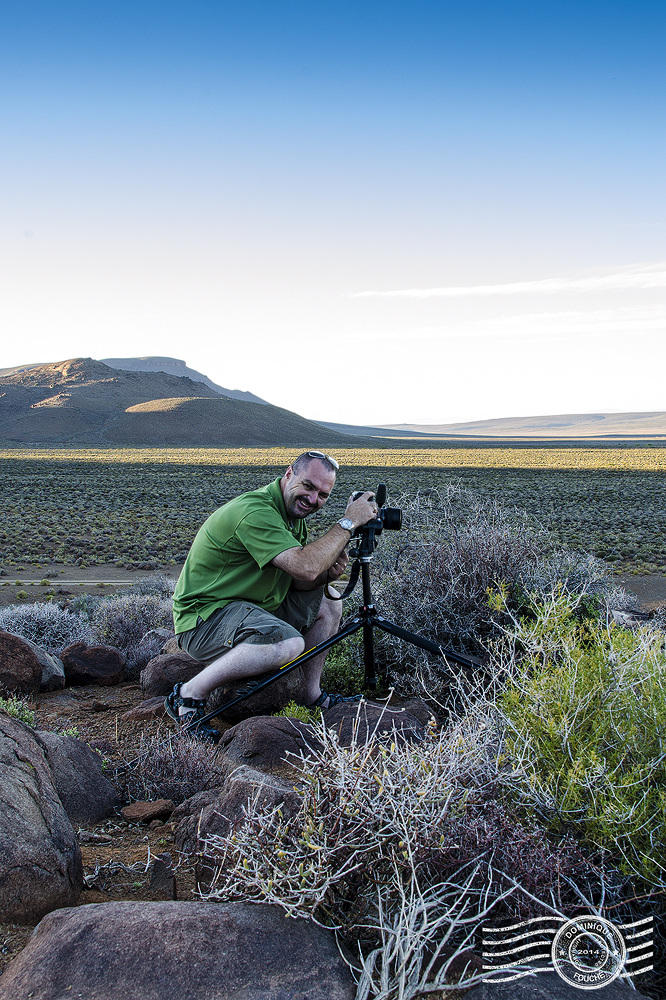 Craig Fouché Shooting Landscapes in Tankwa Karoo - ©2014 Dominique Fouché