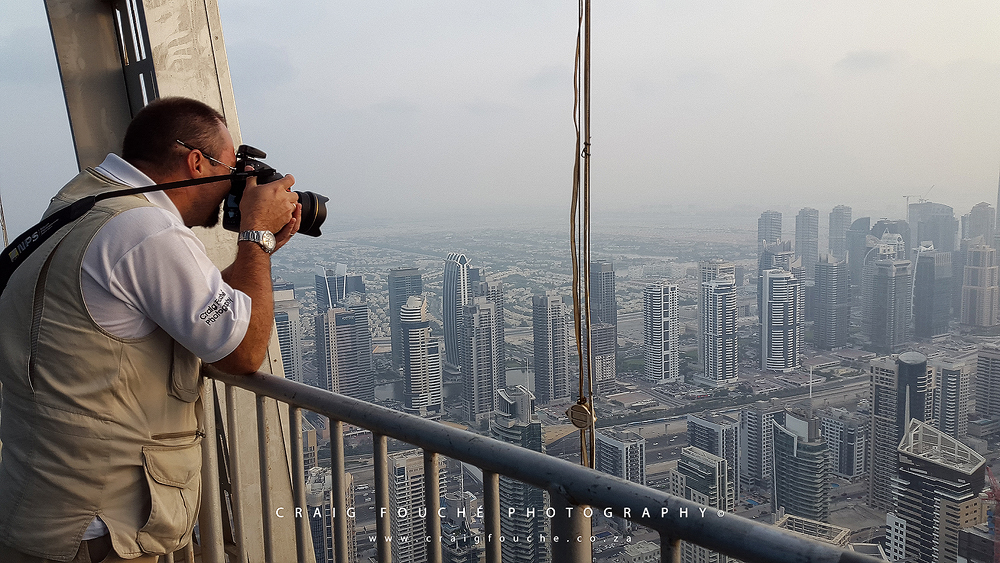 Rooftop Photography in Dubai 2017