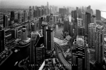 Cityscape Photography - Dubai Marina From Cayan Tower, Dubai - Fujifilm Acros 100