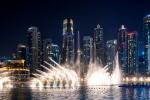 Fountains, Burj Khalifa, Dubai, UAE