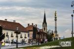 Mary Column in front of the Zagrebačka Katedrala, Zagreb, Croatia
