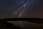 Milky Way Reflections, Rogge Cloof, Sutherland, South-Africa