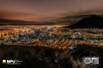 Night Cityscape from Signal Hill, Cape Town, South-Africa