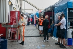2017 Dubai 24H - Team Stalls Behind Garages