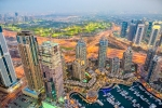 Dubai Creek Golf Course From Cayan Tower, Dubai Marina, Dubai, UAE