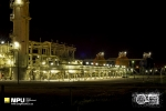 Kaz Gas Plant at Night, Basra, Iraq