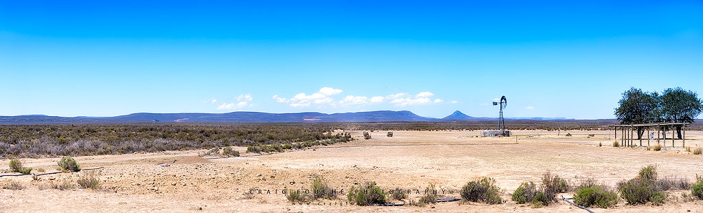 Salpeterkop and the Windmill, Rogge Cloof, South-Africa