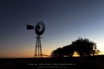 Sunset Windmill, Rogge Cloof, Sutherland, South-Africa