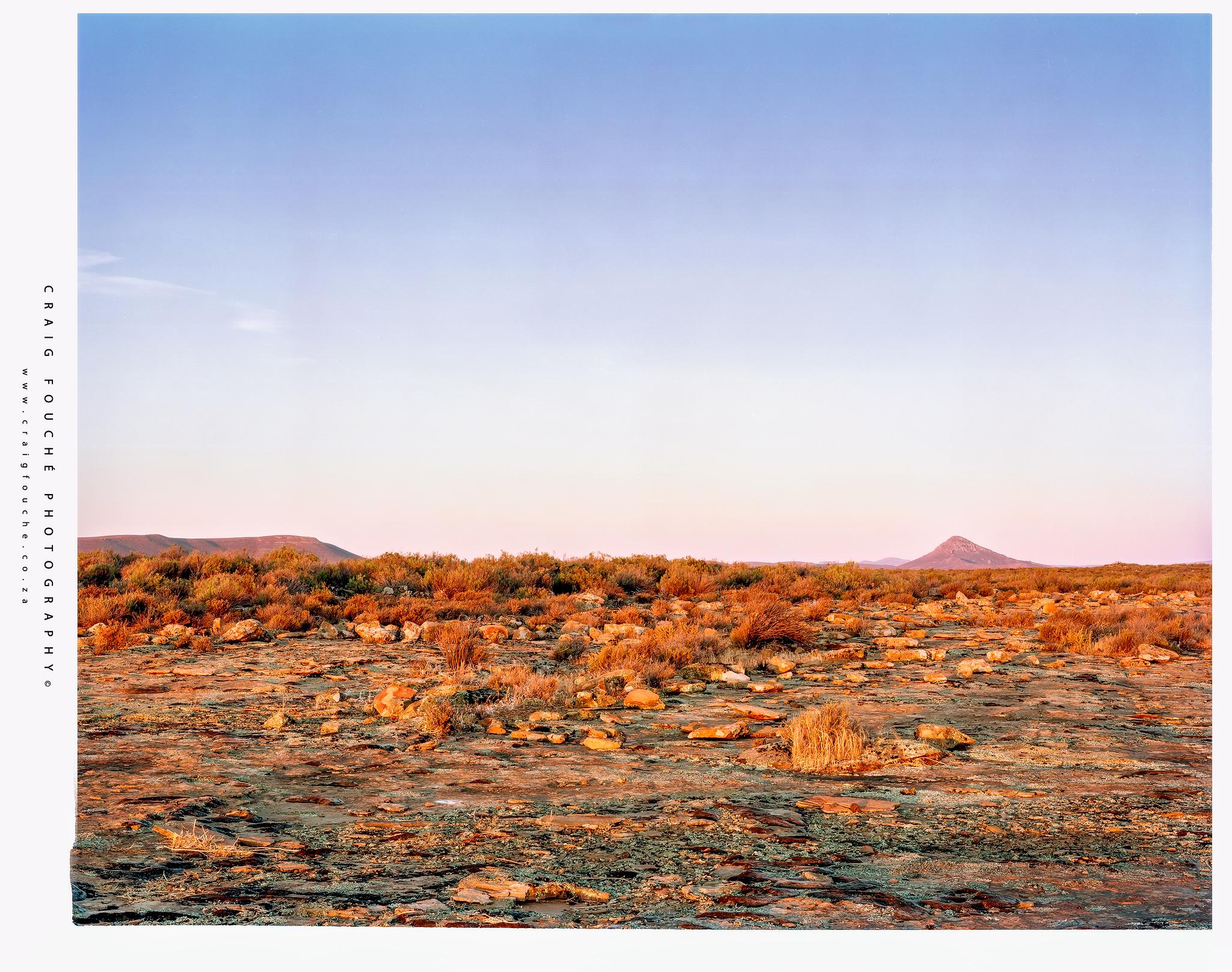 Salpeterkop, Rogge Cloof, Sutherland, South-Africa  - Kodak Ektar 100