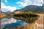 Landscape - Dwarsberg Reflections, Rawsonville, South-Africa - Kodak Portra 400