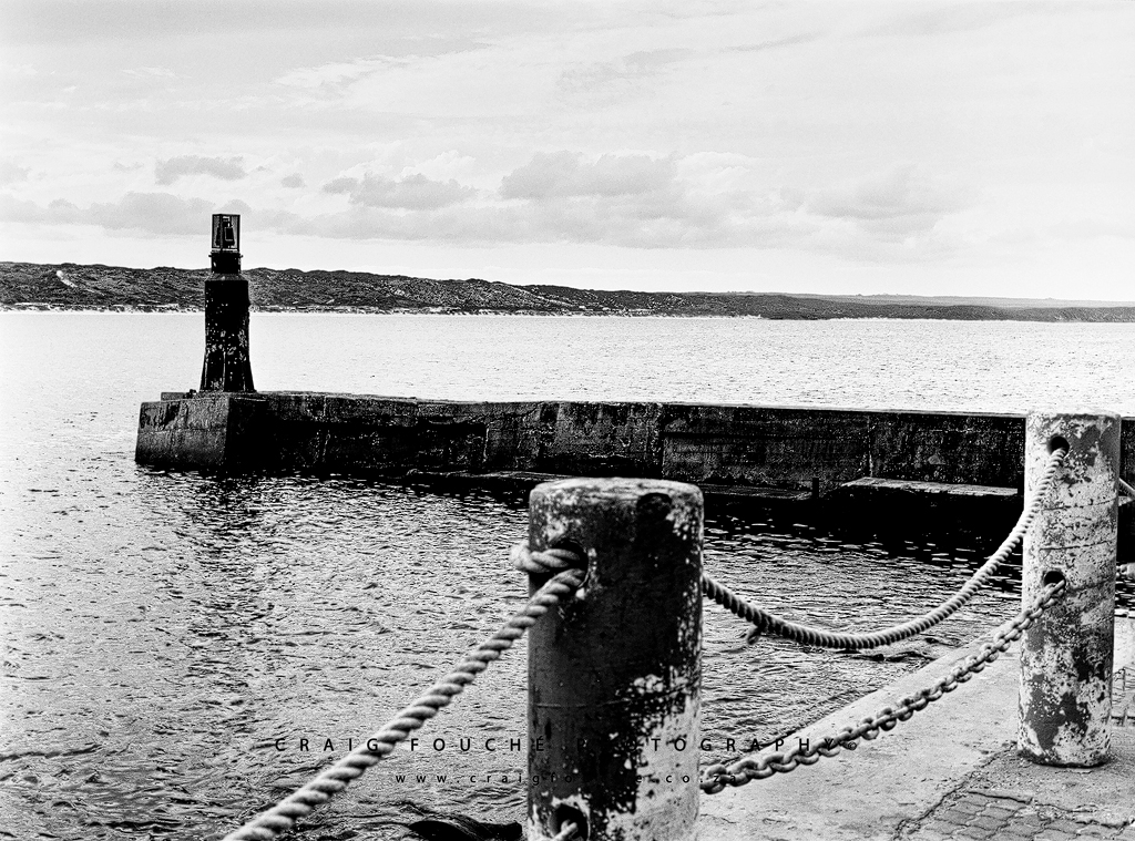 Monochrome - Stilbaai Harbour - Stilbaai, South-Africa -  Kodak Tmax 100