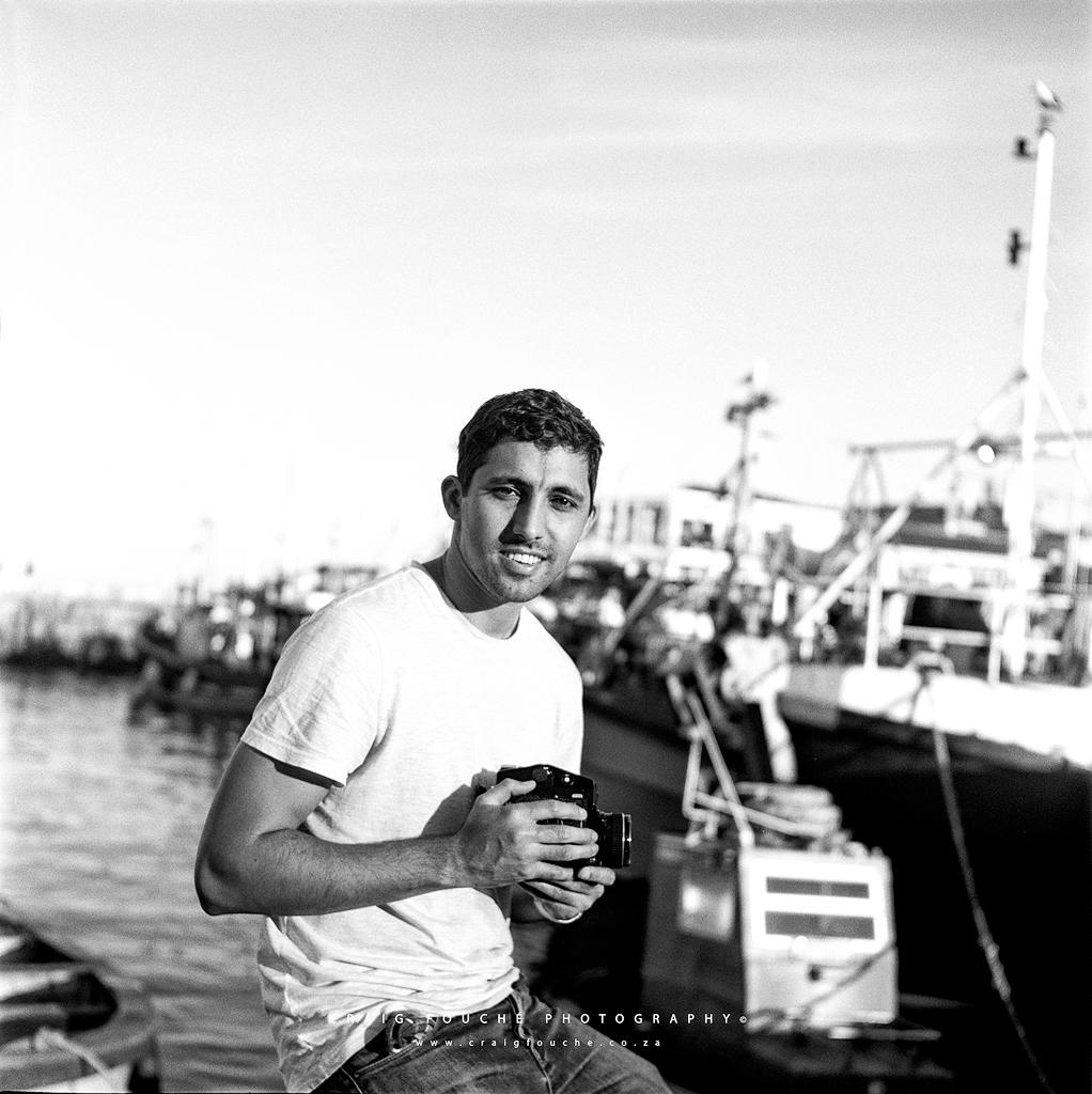 Kirsten, Kalk Bay Harbour, Cape Town South-Africa - Kodak Tri-X 400 / 400TX