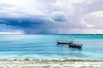 Distant Storm, Nungwi, Zanzibar, Tanzania