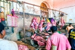 Butchery, Darajani Market, Stone Town, Zanzibar, Tanzania